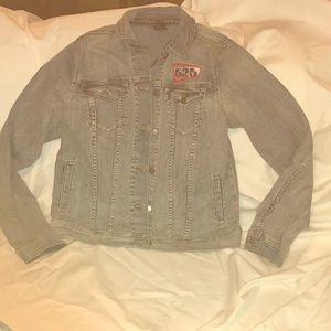 Lilo & Stitch Jean denim jacket. Medium New